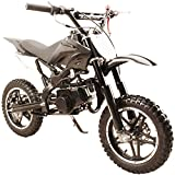 49cc 50cc High Performance Black 2-Stroke Gas Motorized Mini Dirt Pit Bike