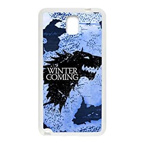 Creative Winter Coming Brand New And Custom Hard Case Cover Protector For Samsung Galaxy Note3