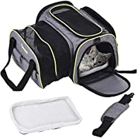 Dadypet Airline Approved Pet Carrier with Fleece Mat