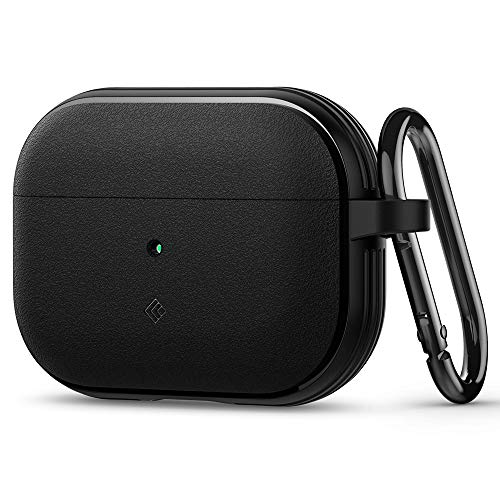Caseology Vault Cover Case Compatible with Apple Airpods Pro Case (Matte Black)