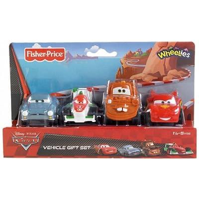Fisher-Price Disney/Pixar Cars 2 Wheelies 4-Pack: Toys & Games