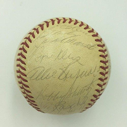 Yogi Berra Signed Baseball - 7