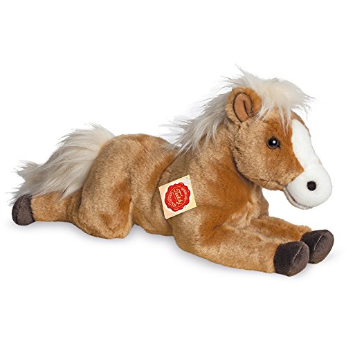 Teddy Hermann Peluche - Cheval - Inclinable, 902607, 39 cm