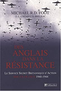 Des Anglais dans la Résistance : le service secret britannique d'action (SOE) en France, 1940-1944, Foot, Michael Richard Daniell