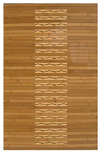 Anji Mountain Bamboo Chairmat & Rug Co. 2-Foot-by-3-Foot Bamboo Kitchen and Bath (Anji Mountain Contemporary Bamboo Rug)