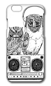 Apple Iphone 6 Case,WENJORS Adorable Silent Night ANALOG zine Hard Case Protective Shell Cell Phone Cover For Apple Iphone 6 (4.7 Inch) - PC 3D