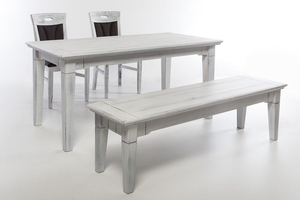 Essgruppe Falun 3 in 160x80 Weiß