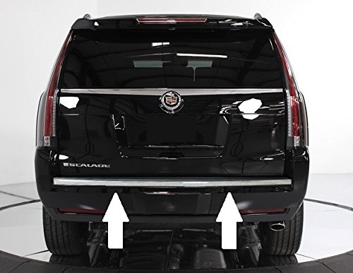 Cadillac Escalade Chrome Bumper Tailgate Trunk Trim Molding 2015 2016 2017 15 16 17 Cadillac Escalade Tailgate