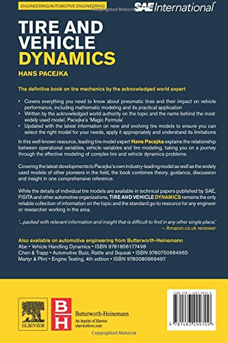 Buy Tire and Vehicle Dynamics Book Online at Low Prices in India