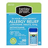 Berkley Jensen Non-Drowsy Allergy Relief, 365 ct. (pack of 6)