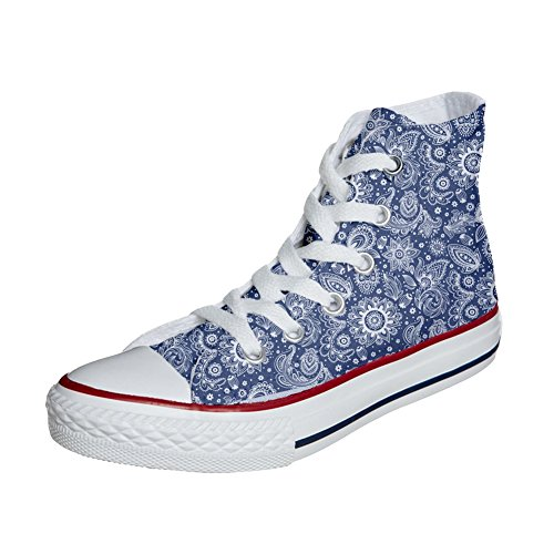 Arabesque Zapatos 46 Size Eu producto Unisex Converse Star Customized All Personalizadas wxO1R6