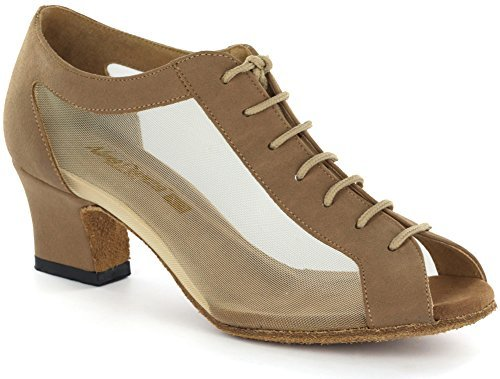 AlmaDanza Women's Practice Dance Shoes A264304 (9.5, Tan)
