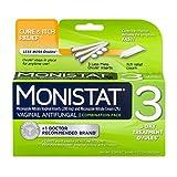 Monistat Combination Pack Vaginal Antifungal, 3-Day Treatment