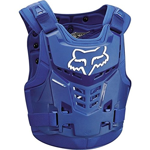 Fox Racing Proframe LC Adult Roost Deflector MotoX Motorcycle Body Armor - Blue/Small/Medium by Fox Racing