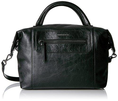 A|x Armani Exchange Faux Leather Satchel Black 942019 6a080