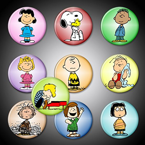 Peanuts Gang magnets Set of 10 Characters 1