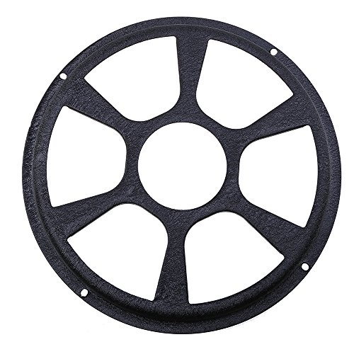 Car Subwoofer Cover,POSSBAY 12'' Audio Speaker Sub Woofer Guard Protector Iron Fits 12' Subwoofers