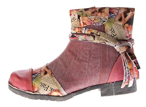 Schuhe Boots 5001 Rot Comfort Grün Leder Blau Tma Halbschuhe Damen Knöchel Schwarz Weiß Stiefeletten