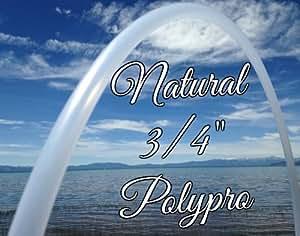 """34"""" Natural 3/4 PolyPro Practice Hula Hoop - By Colorado Hula Hoops"""
