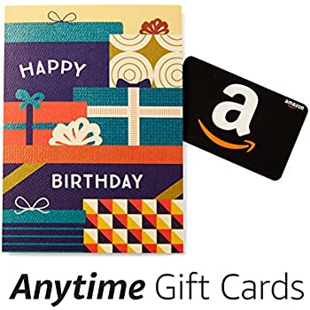 Amazon Happy Birthday Premium Greeting Card With Anytime Gift Pack Of 3