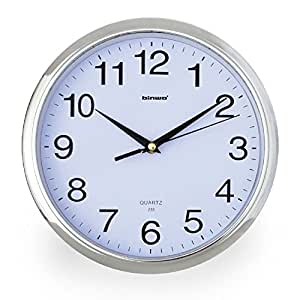 Wall Clock Binwo Modern Stylish Elegant Silent Non Ticking Home Kitchen Living Room