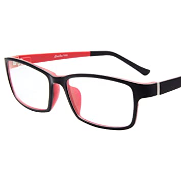 a56635dd9aa Image Unavailable. Image not available for. Color  LIANSAN Womens Optical  Glasses Mens TR Frames ...