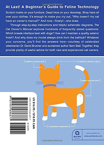 The Cat Owner's Manual: Operating Instructions, Troubleshooting Tips, and Advice on Lifetime Maintenance (Quirk Books) 2