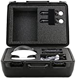 Professional HD Carrying Case For PlayStation VR - Stores Playstation VR Motion Controllers, Wireless Controller Virtual Reality Headset, 3D VR Glasses, And Accessories, Safely - Black from Life Made Better