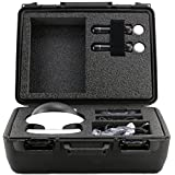 Professional HD Carrying Case For PlayStation VR - Stores Playstation VR Motion Controllers, Wireless Controller Virtual Reality Headset, 3D VR Glasses, And Accessories, Safely - Black