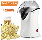 Best Air Popcorn Poppers - Popcorn Poppers, 1200W Hot Air Popcorn Popper Popcorn Review