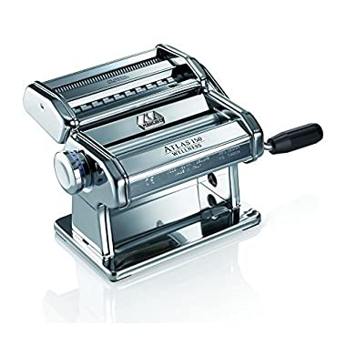 Marcato Atlas Wellness 150 Pasta Maker, Stainless Steel