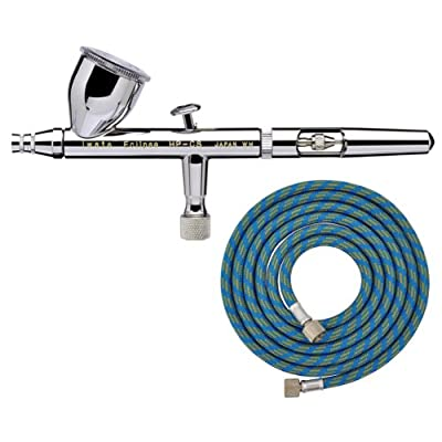 IWATA Eclipse HP-CS Gravity Feed AIRBRUSH with FREE HOSE