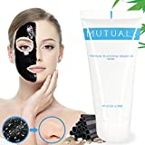 Black Mask, Charcoal Peel Off Mask, Blackhead Remover Mask Kit for Whitehead, Acne, Oil-control