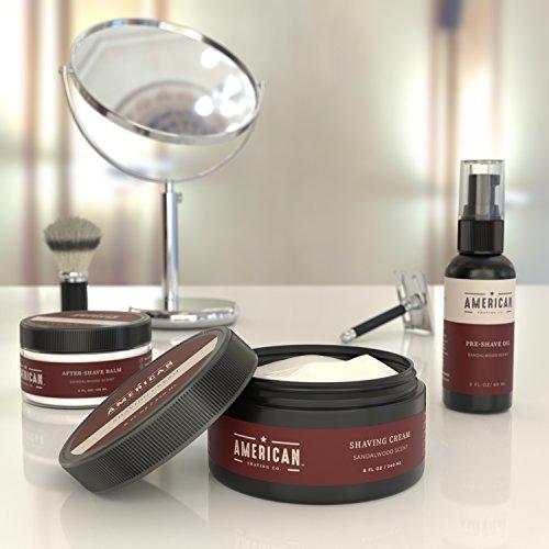 American Shaving Shaving Cream For Men 8oz Sandalwood Barbershop