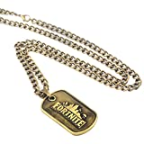 Dolovely Fortnite Logo Battle Royale Game Necklace Dog Tag Pendant Necklace