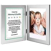 Marco de poemas para padres de Baby Girl - Mommy and Daddy de Daughter, Agregar foto