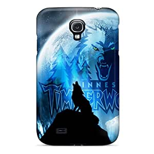 AuwEgwt2701NfKmj Case Cover Protector For Galaxy S4 Timber Wolf Case