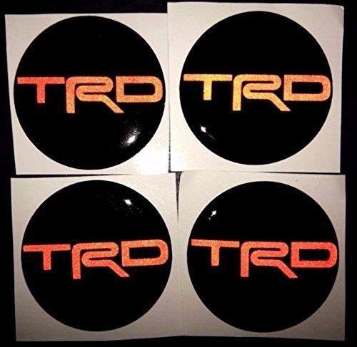 trd wheels center cap - 8