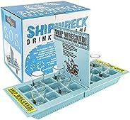 Fairly Odd Novelties FON-10043 Who Needs a Ship? Take Your Shots Into Battle Shipwreck Drinking Game