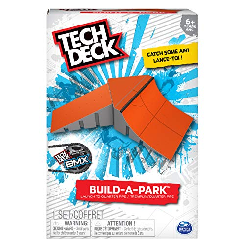 (Tech Deck - Build-A-Park - Launch to Quarter Pipe (Red))