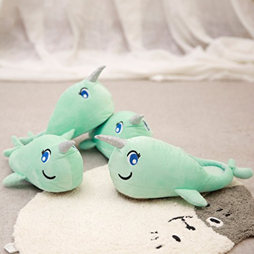 YUTIANHOME Slippers For Ladies Womens Cute Whale Cartoon Comfort Soft Warm House Indoor Anti-Skid Shoes Whale aFBUXd