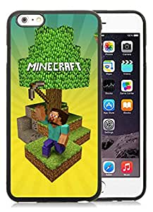 Unique And Fashionable Designed Cover Case For iPhone 6 Plus 5.5 Inch With Minecraft Game Black 034 Phone Case