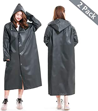 Confort Double Face Impermeabile Pioggia CAPPOTTO PVC Giacca Impermeabile Impermeabili