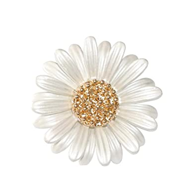 Shinywear Brooch Pin Daisy