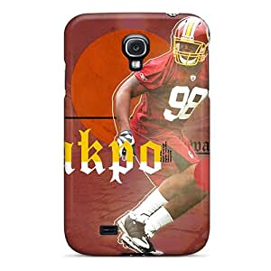 First-class Case Cover For Galaxy S4 Dual Protection Cover Washington Redskins