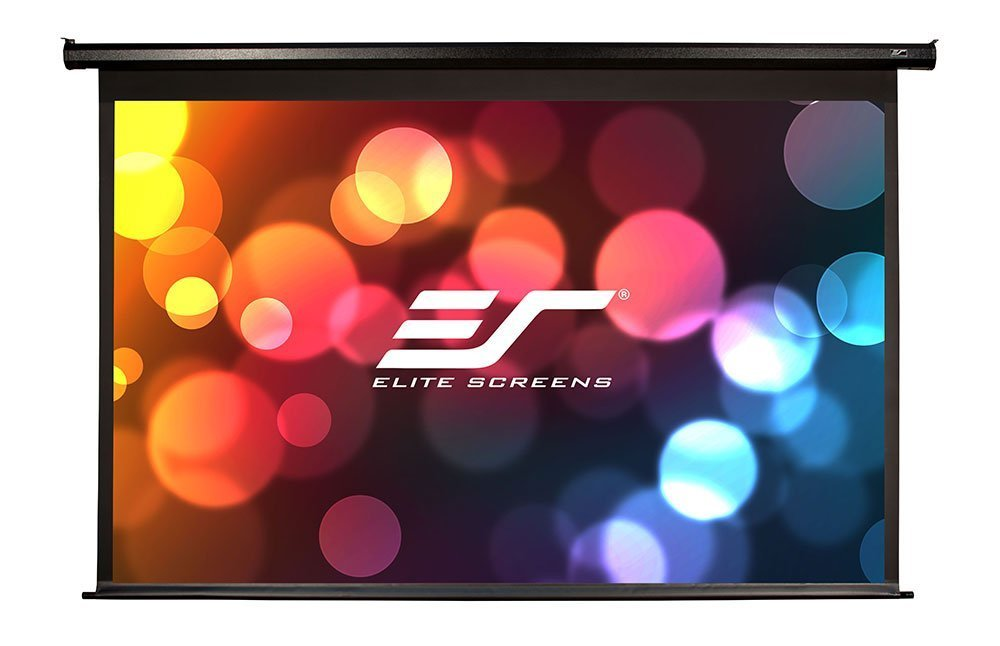 Elite Screens Spectrum Electric Budget Projection Screen, 16:9 Aspect Ratio - 100in. (Max White)