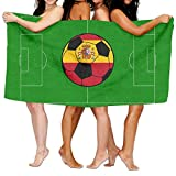 SWEET-YZ Love Spain Soccer Moisture Absorption Bath Towels Beach Towels For Adult & Teen