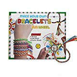 SadoCrafts Make Your Own Bracelets - with EVA Wheel Fun, Interactive, Educational DIY Jewelry Kit for Kids