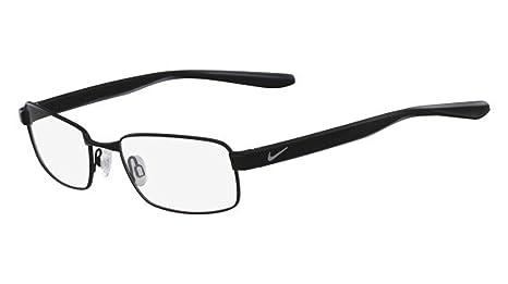c072249188 Amazon.com  Eyeglasses NIKE 8175 001 SATIN BLACK  Sports   Outdoors