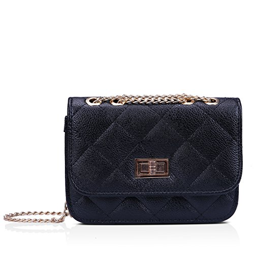 Quilted Small Shoulder Bag - 9